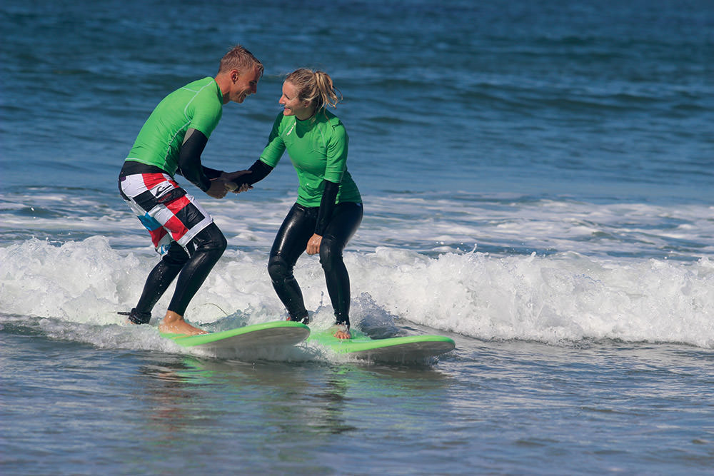 Surf Lessons in the Algarve, Portugal